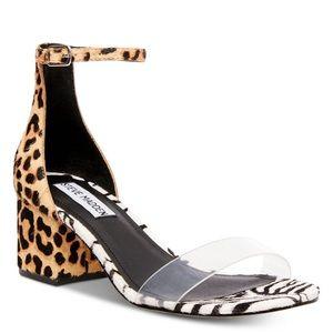 Steve Madden Irenee mixed print sandals
